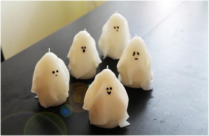 Lumanari Fantoma Halloween